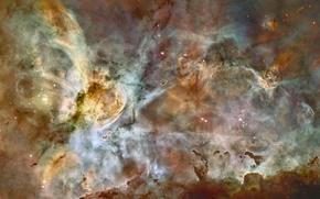 Wallpaper nebula, stars, nebula