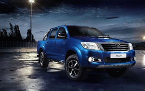 Picture Toyota, pickup, Hilux