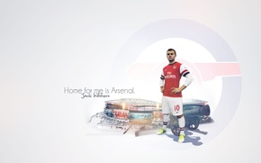 Picture arsenal, football, wilshere jack