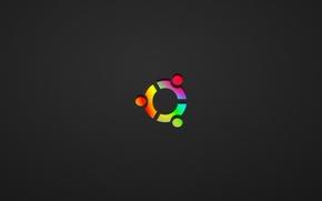 Picture minimalism, Ubuntu Colored