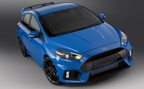 Picture focus, 2015, US-spec, Ford, Focus, blue, Ford