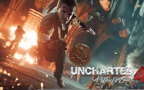 Picture coin, Naughty Dog, Nathan Drake, Uncharted™4: way of the thief