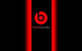 Picture red, black, music, beats, audio, baetsaudio