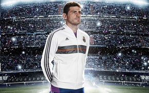 Wallpaper Sport, Football, Form, Spain, Football, Real Madrid, Real Madrid, Player, Iker Casillas, Iker Casillas, Kit