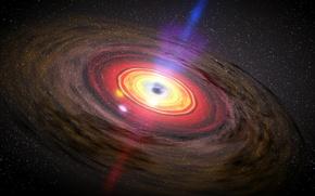 Picture colors, circles, Sci Fi, black hole