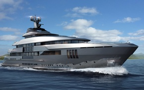 Picture admiral, superyacht, mega yacht, admiral c force 60