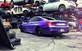 Picture BMW, vossen, 650i, F13, rearside