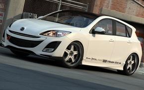 Picture graphics, art, Mazda 3, dangeruss, Mazda Motor Corporation