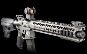 Picture weapons, background, carabiner, assault rifle