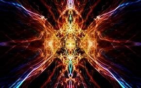 Picture light, reflection, symmetry, kaleidoscope