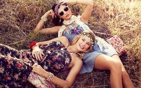 Picture grass, face, sexy, smile, legs, sexy, model, Tori Praver, Katarina Ivanovska, girls.beauty, Tori Praver, Katarina …