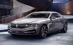 Picture background, coupe, BMW, BMW, ladder, the concept, Coupe, the front, Gran Lasso, Gran Lusso