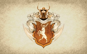 Picture symbol, series, dragon, A Song of Ice and Fire, Game of Thrones, shield, deer, Baratheon, …