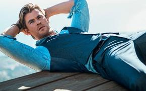 Picture photoshoot, Chris Hemsworth, Chris Hemsworth
