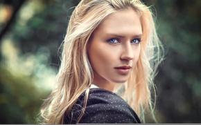 Picture portrait, Eva, Lods Franck