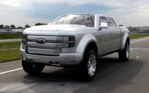 Picture road, Ford, concept, Ford, F-250, super chief