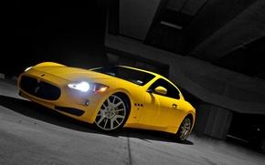 Picture Maserati, Yellow, Granturismo