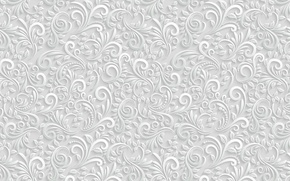 Picture leaves, pattern, the volume