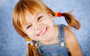 Wallpaper happiness, children, childhood, child, child, childhood, children, happiness, smiling, smiling, bad teeth, stylish girl, stylish ...