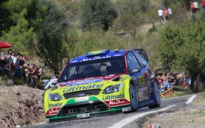 Picture asphalt, ford, rally, rally, wrc, 2009, focus