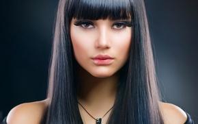 Picture sexy, model, brunette, look, makeup