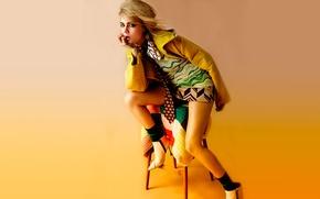 Picture clothing, fashion, Cara Delevingne, Vogue magazine, may 2014, Cara Delevingne