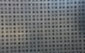 Picture grille, metal, holes