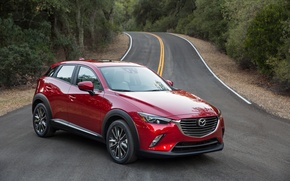 Wallpaper Mazda, Mazda, crossover, CX-3