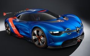 Picture Concept, the concept, Renault, twilight, drives, Reno, the front, Alpine, Alpine, A110-50