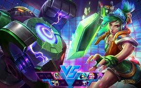 Picture robot, League of legends, Riven, Lol