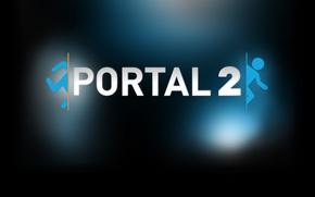 Picture steam, Portal 2, Background profile, Portal 2 Logo