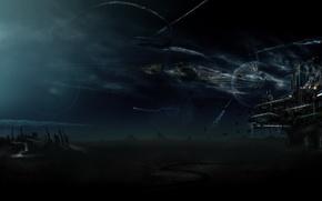 Wallpaper base, Attack, planet