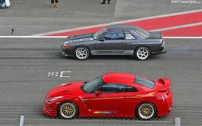 Picture nissan, skyline, japan, jdm, tuning, gtr, racing, r32, nismo, datsun