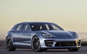 Picture Porsche, Panamera, the front, Porsche, Concept, Panamera, Sport Turismo