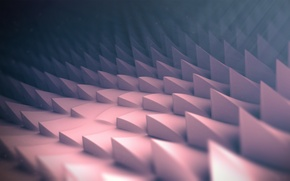 Picture surface, corners, spikes, rendering