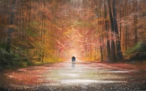 Picture autumn, Park, Jeff Rowland