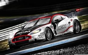 Picture sportcar, race, Aston Martin DBR9