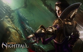Picture girl, guild wars, nightfall