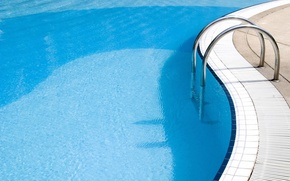 Wallpaper water, blue, pool