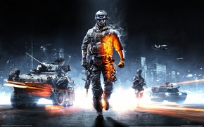 Picture the game, technique, soldiers, battlefield 3