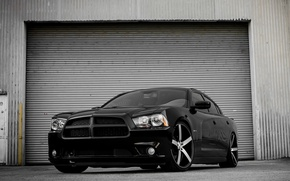 Picture Dodge, Black, Charger