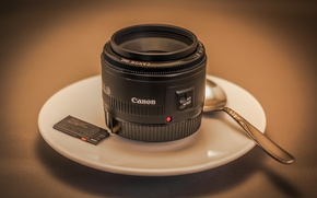 Picture background, coffee, Canon