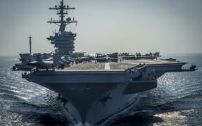 "Wallpaper Carl Vinson, (CVN-70), USS, the carrier, type ""Nimitz"""
