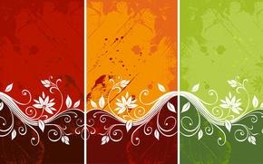 Wallpaper color, vector, pattern