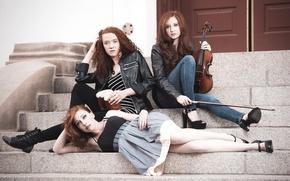Picture Models, Alicia Valencia-Salter, Lauren Shipman, Ginger Street Band, Acacia Vernon