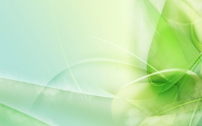 Picture line, design, Greens