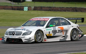 Picture white, sport, mercedes-benz, amg