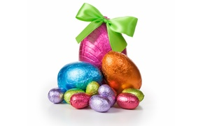 Wallpaper chocolate, eggs, candy, Easter, chocolate, Easter, eggs