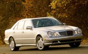 Picture Mercedes-Benz, Mercedes, E-class, AMG, E-Class, 1999, E-class, W210, Executivklasse, Lupato, Eyed