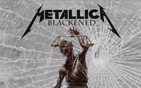 Picture music, metallica, blackened